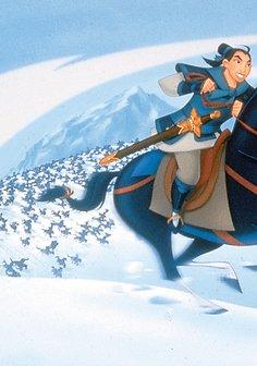 Mulan / Pocahontas Poster