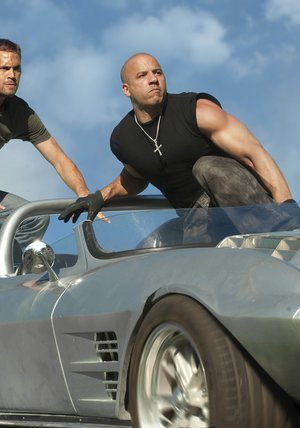 The Fast and the Furious 1-5 Poster