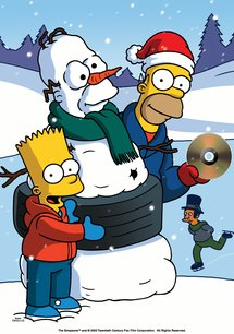 The Simpsons - X-Mas with The Simpsons