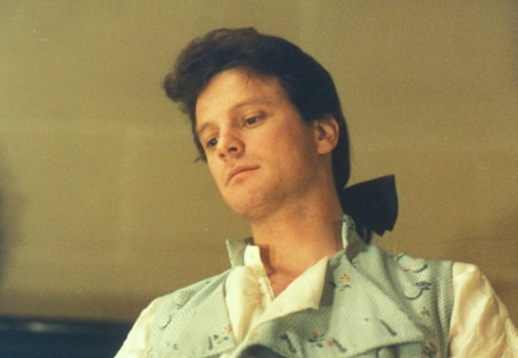 "Colin Firth in ""Valmont"" © Tobis"