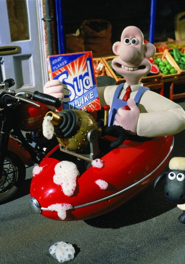 Wallace & Gromit - A Close Shave Poster