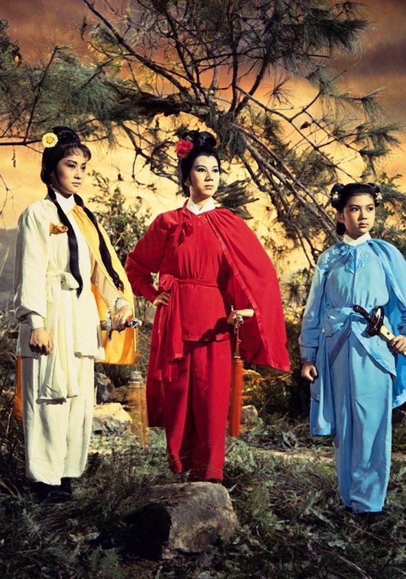 Wang Yu - Der Tempel des Red Lotus Poster