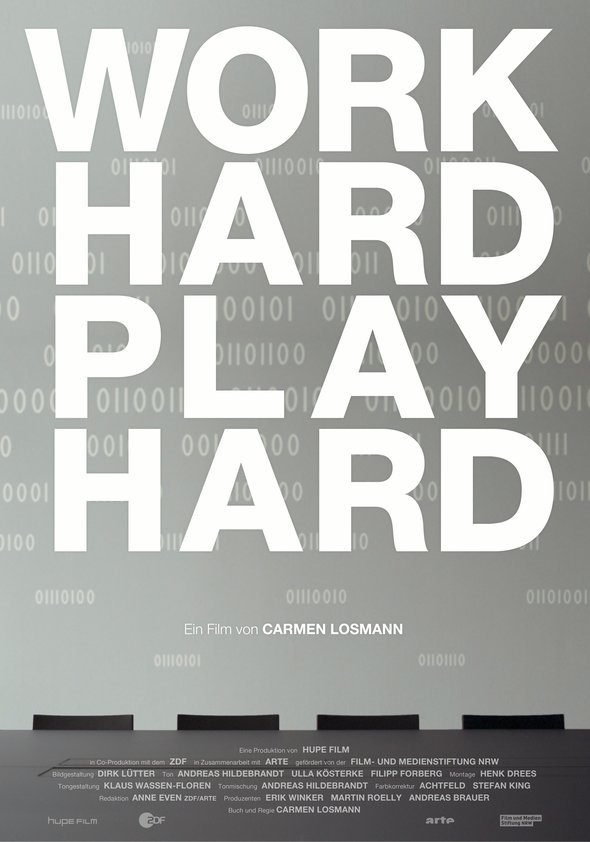 Work Hard, Play Hard Poster