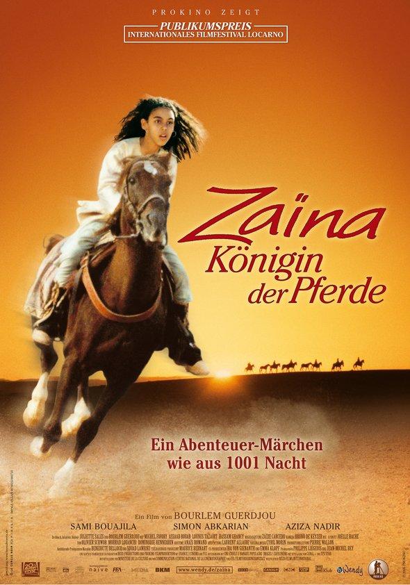 Zaïna, Königin der Pferde Poster