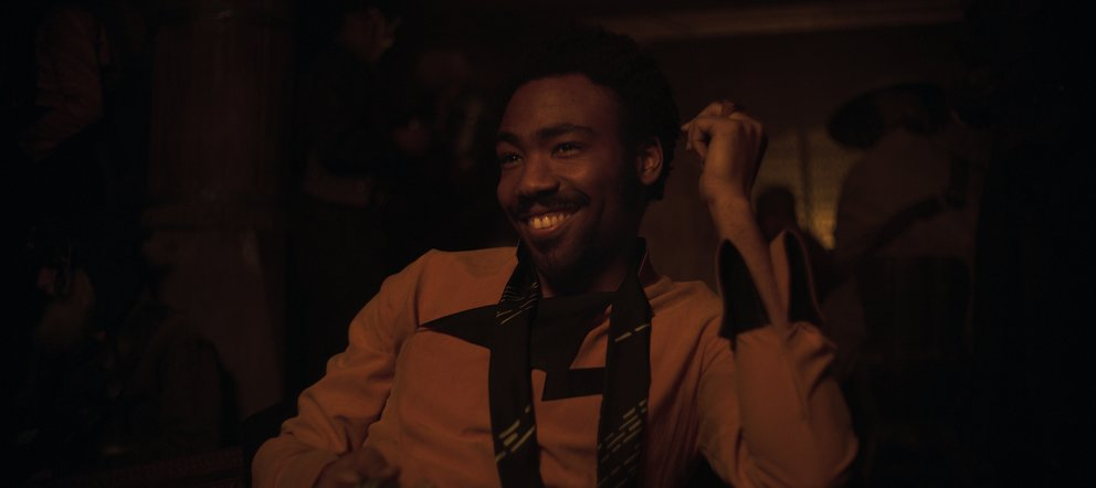 Donald Glover als Lando Calrissian in Solo: A Star Wars Story © Disney