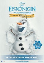 Die Eiskönigin - Völlig unverfroren: Version zum Mitsingen Poster