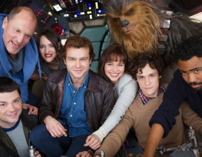 Cast des kommenden Han-Solo-Filmes © Walt Disney
