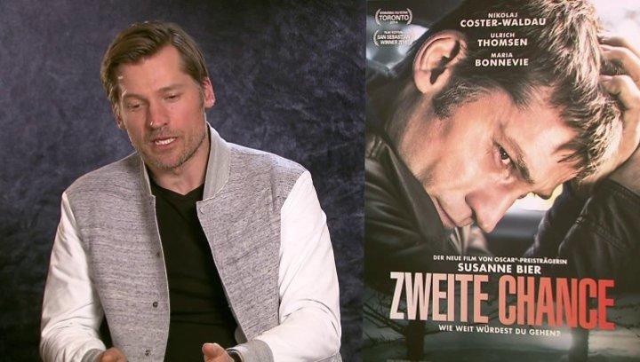 Nikolaj Coster-Waldau über die Beziehung zwischen Andreas und seiner Frau - OV-Interview Poster
