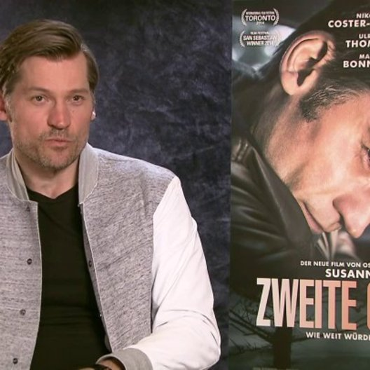 Nikolaj Coster-Waldau über (Lykke) May Andersen - OV-Interview Poster