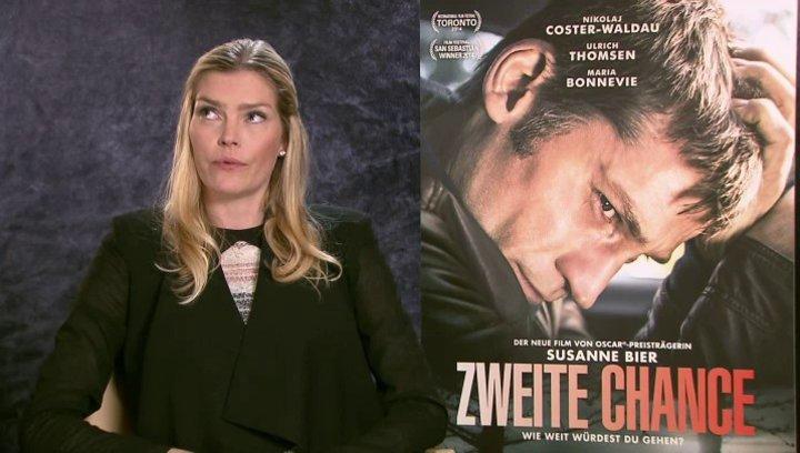 May Andersen über die Zusammenarbeit mit Susanne Bier - OV-Interview Poster