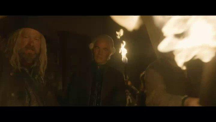 König Rufus wird von seinem zwielichtigen Bruder Badal und der Piratenbande um den Barschen Björn entführt - Szene Poster