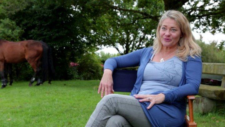 Karlström über die Dreharbeiten mit der Pferdeherde - Interview Poster
