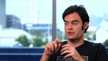 Bill Hader - Aaron - über Amys Lebenssituation - OV-Interview Poster