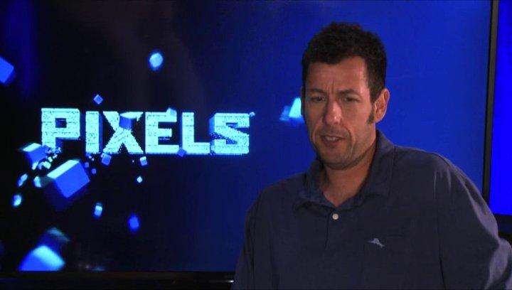 Adam Sandler über die Videospiel Charaktere im Film - OV-Interview Poster