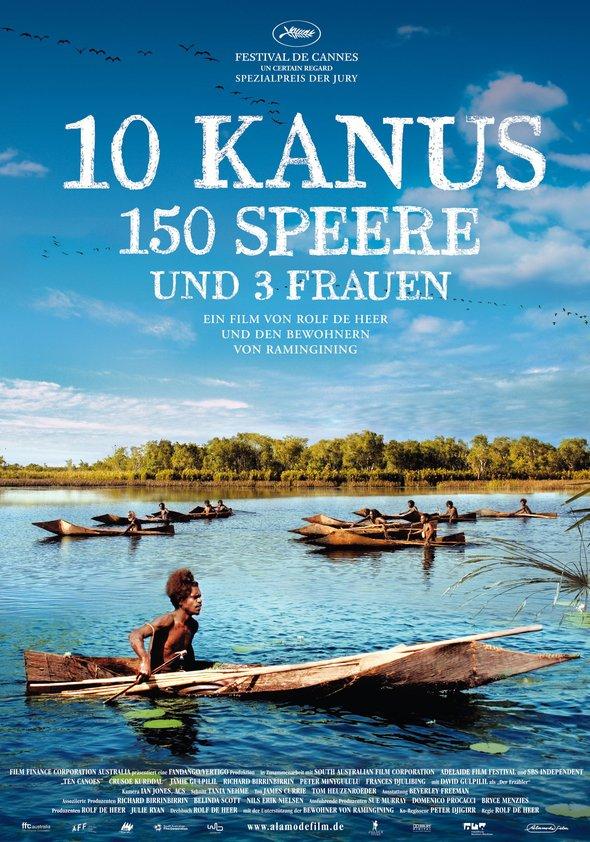 10 Kanus, 150 Speere und 3 Frauen Poster