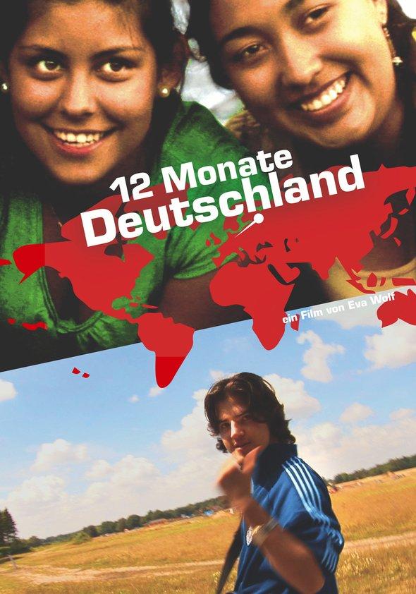 12 Monate Deutschland Poster