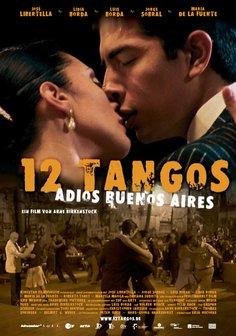 12 Tangos - Adios Buenos Aires Poster
