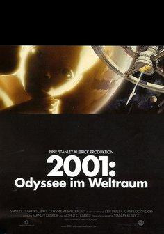 2001 - Odyssee im Weltraum Poster
