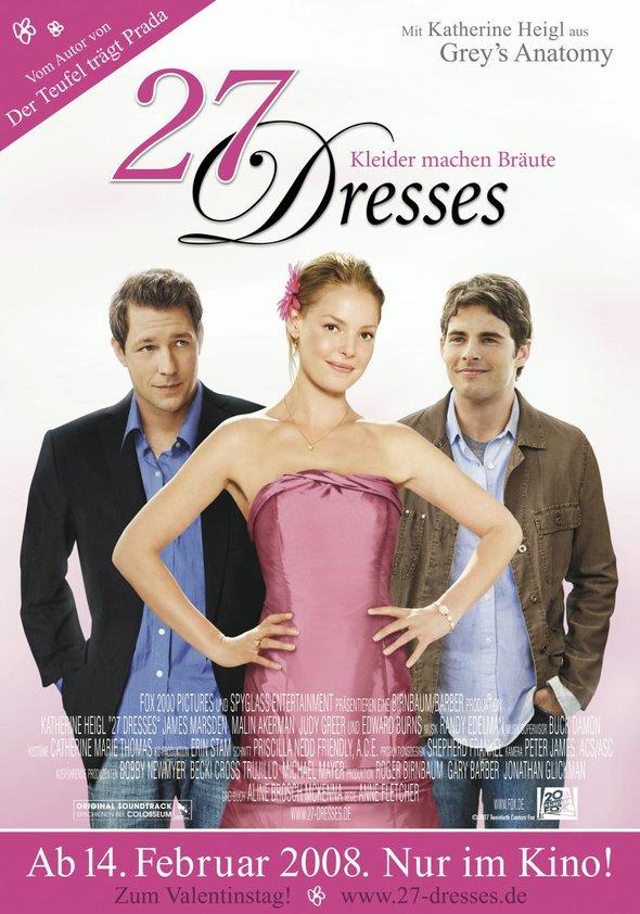 27 Dresses Poster