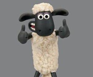 Shaun das Schaf gibt wortloses Interview