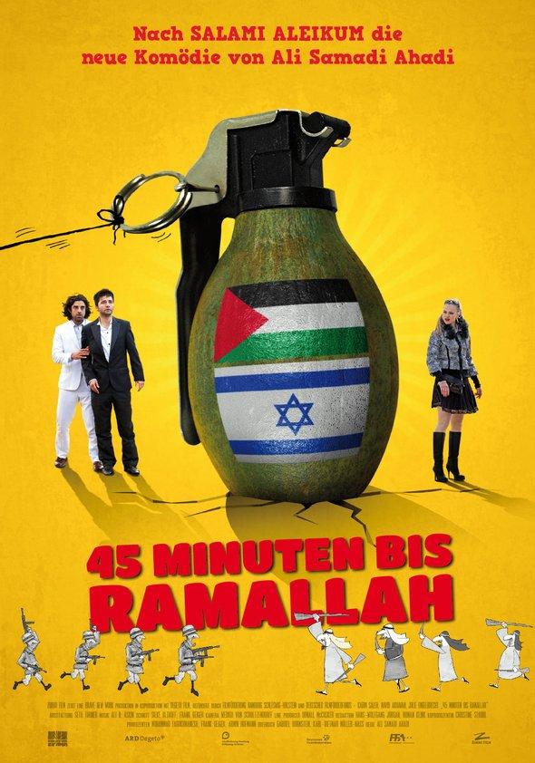 45 Minuten bis Ramallah Poster