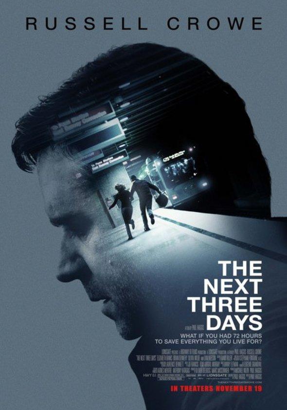 72 Stunden - The Next Three Days Poster