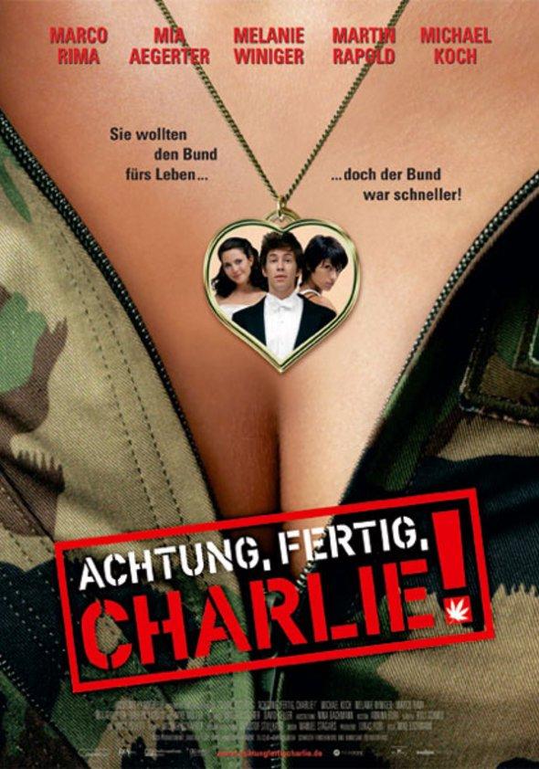 Achtung, fertig, Charlie! Poster
