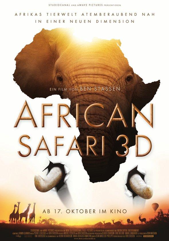 African Safari 3D Poster