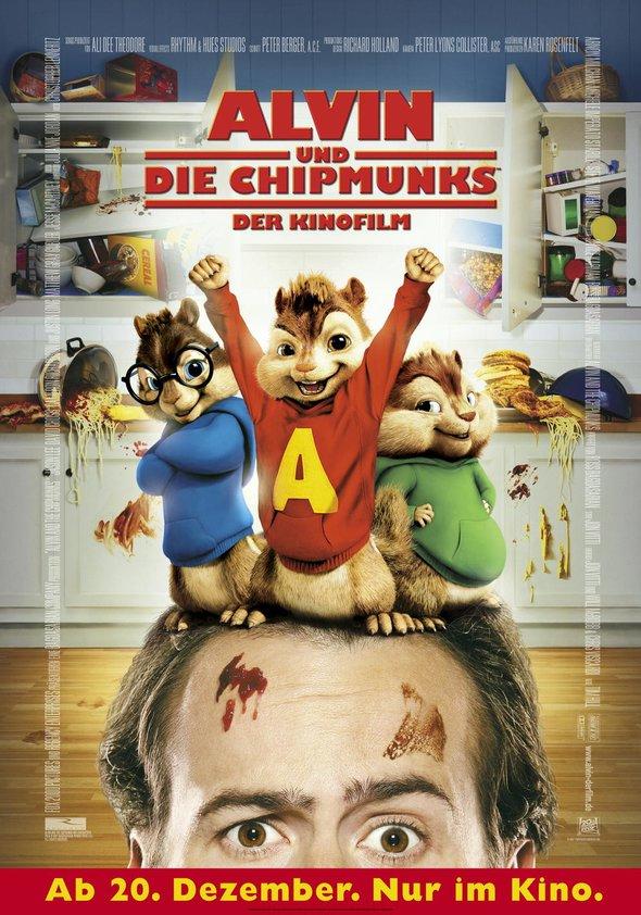 Alvin und die Chipmunks - Der Kinofilm Poster