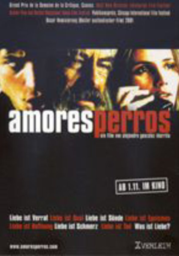 Amores perros Poster