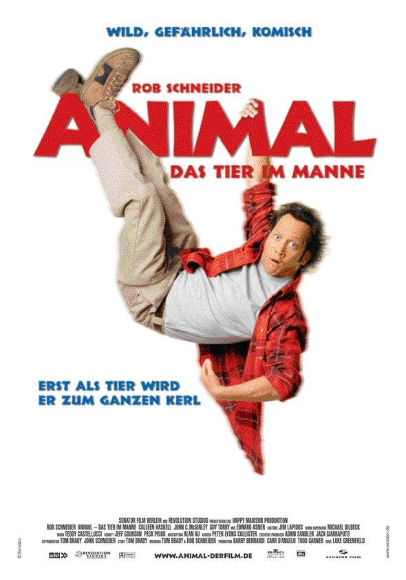 Animal - Das Tier im Manne Poster