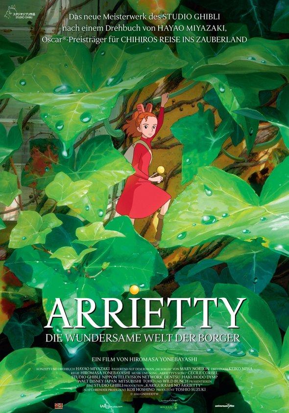 Arrietty - Die wundersame Welt der Borger Poster