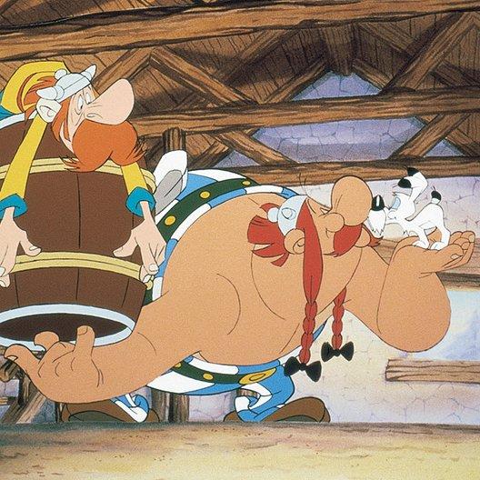 Asterix bei den Briten - Trailer Poster