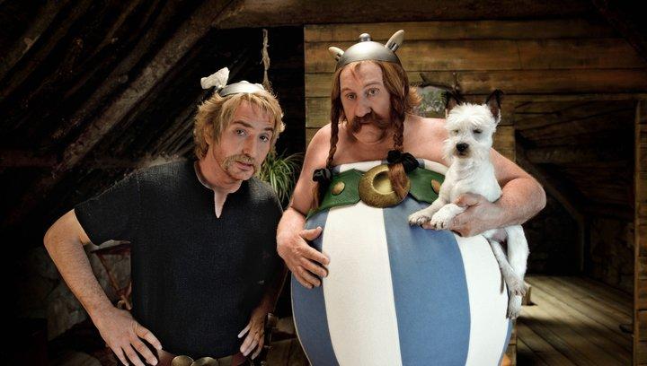 Asterix & Obelix - Im Auftrag Ihrer Majestät (BluRay-/DVD-Trailer) Poster