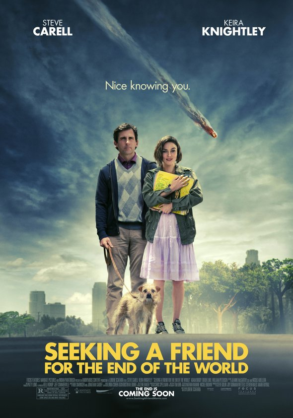 Auf der Suche nach einem Freund fürs Ende der Welt Poster