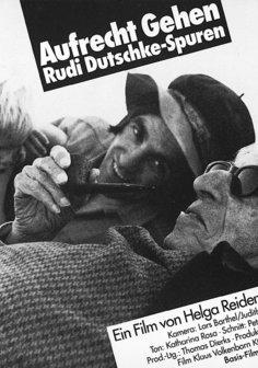 Aufrecht gehen - Rudi Dutschke Poster
