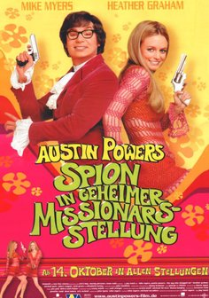 Austin Powers - Spion in geheimer Missionarsstellung Poster