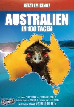 Australien in 100 Tagen Poster