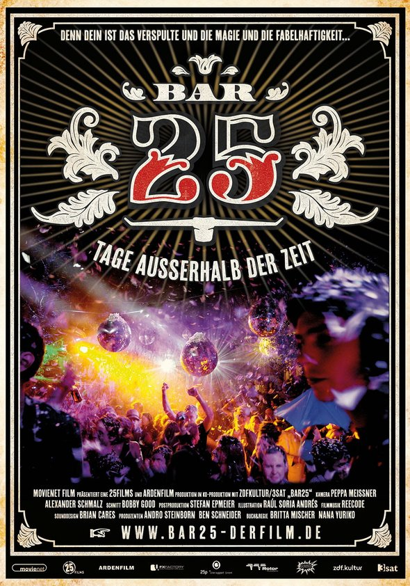 Bar 25 - Tage außerhalb der Zeit Poster