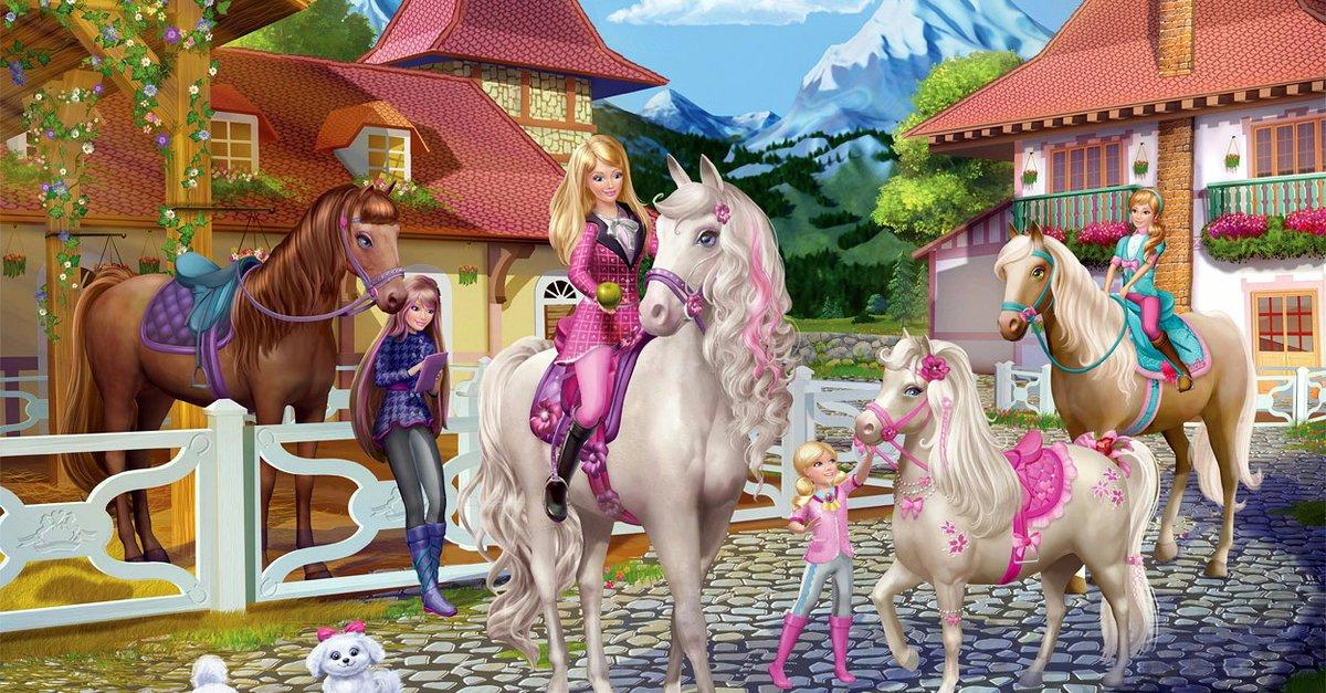barbie schwestern im pferdeglГјck