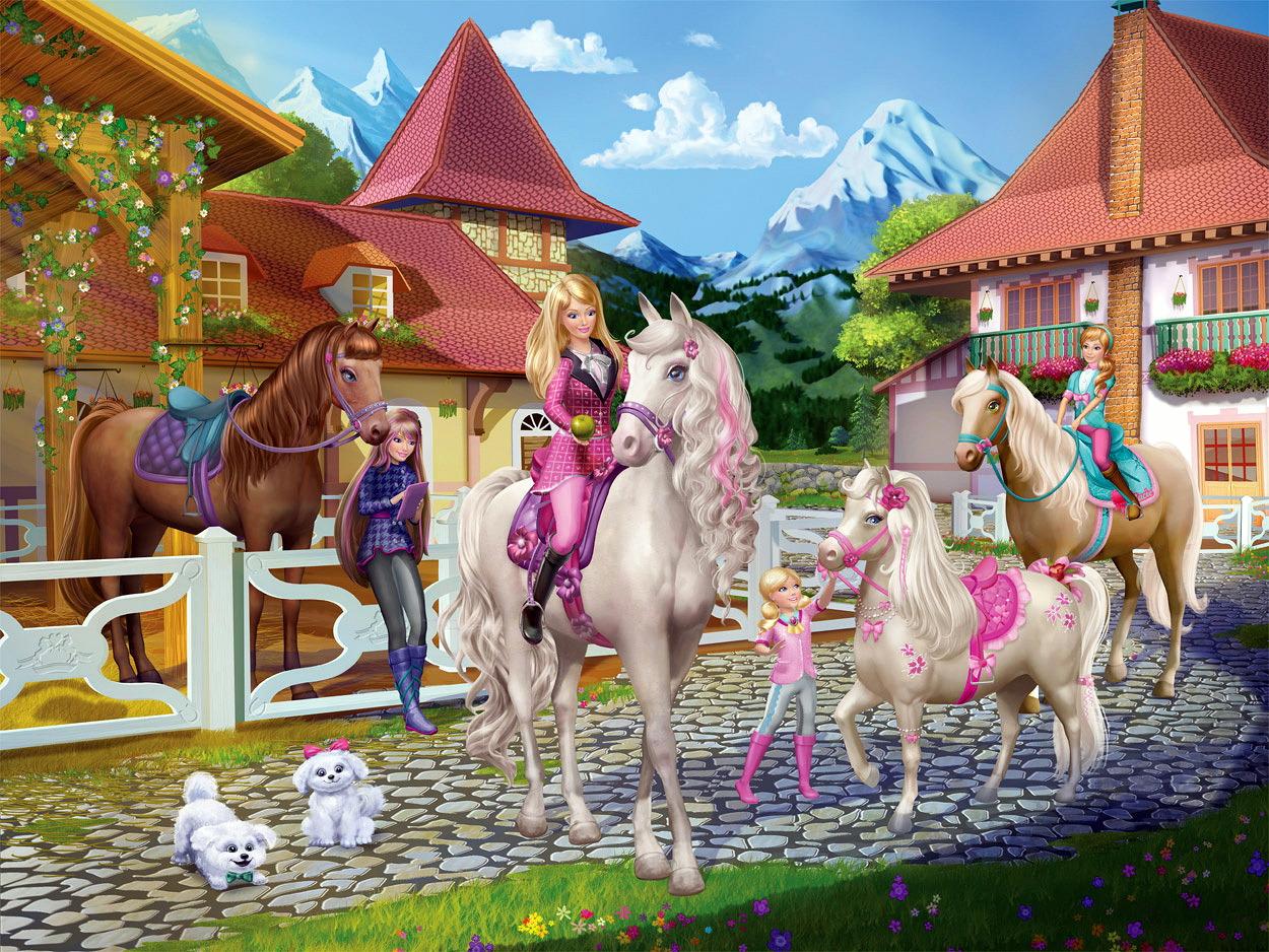 Ausmalbilder Barbie Und Pferd : Ausgezeichnet Barbie Pferd Malvorlagen Fotos Malvorlagen Von