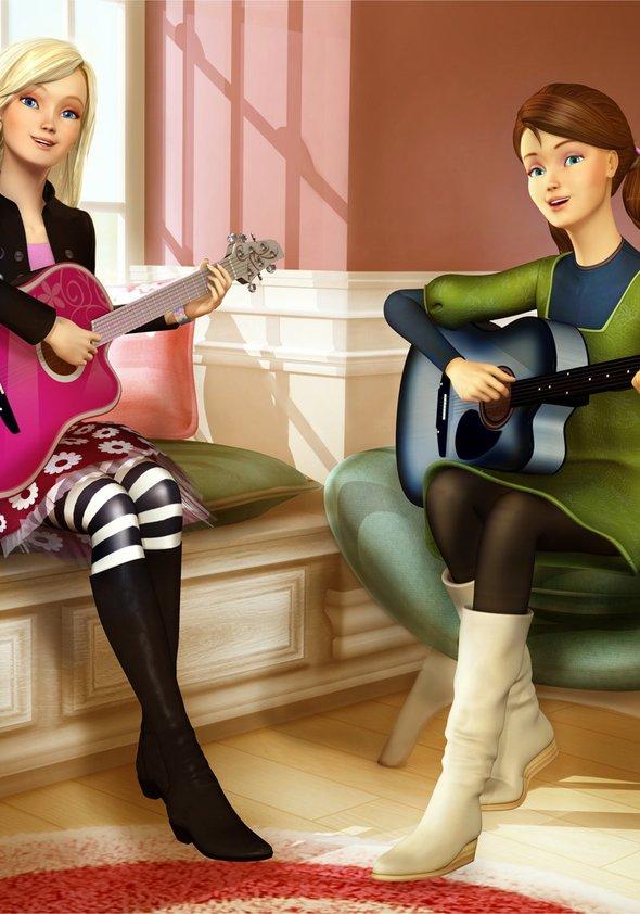 Barbie und das Diamantschloss Poster