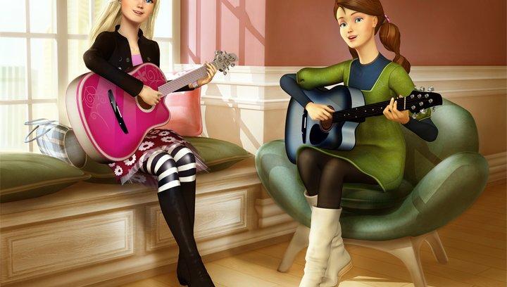 Barbie und das Diamantschloss - Trailer Poster