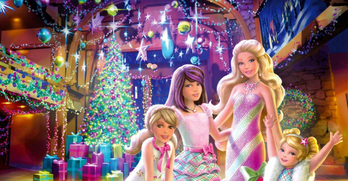 barbie zauberhafte weihnachten film 2011 trailer. Black Bedroom Furniture Sets. Home Design Ideas