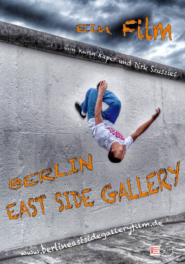 Berlin East Side Gallery Poster