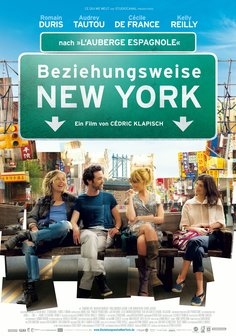 Beziehungsweise New York Poster