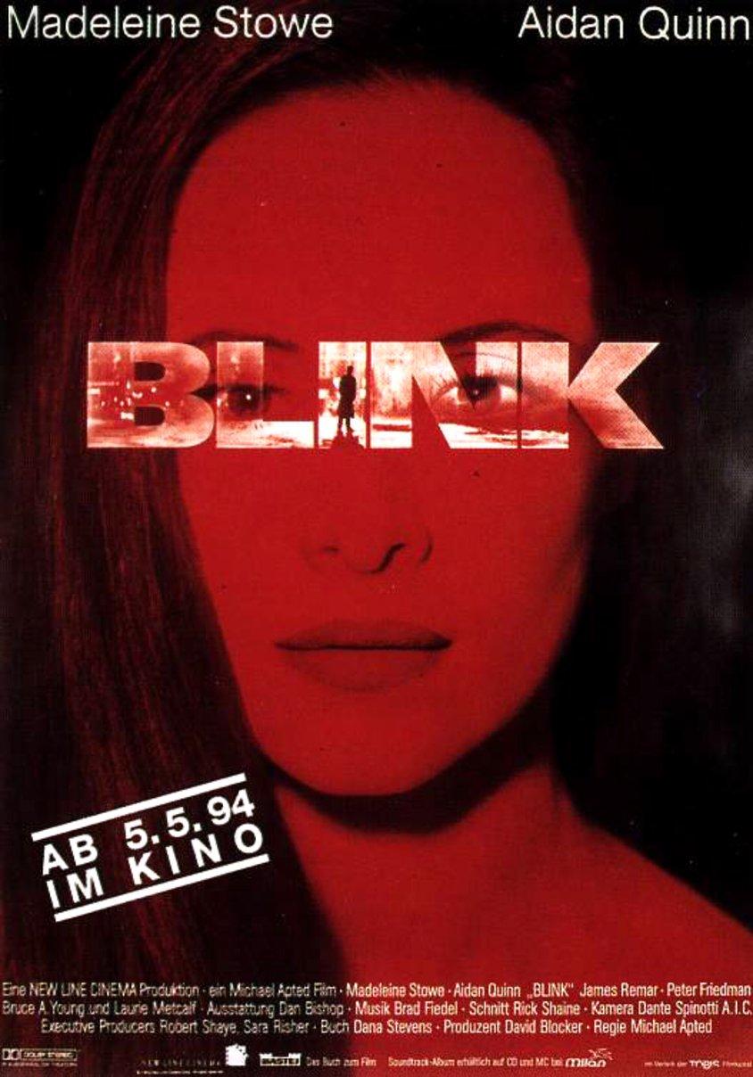 Blink 1994 Filmplakat