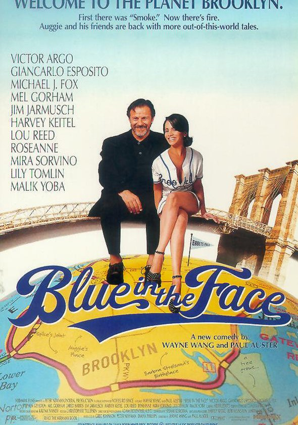 Blue in the Face Poster