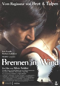 Brennen im Wind Poster