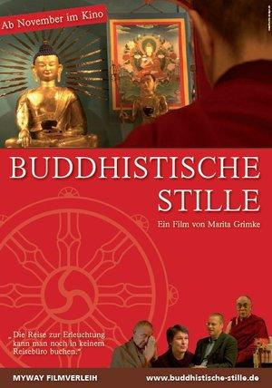 Buddhistische Stille Poster